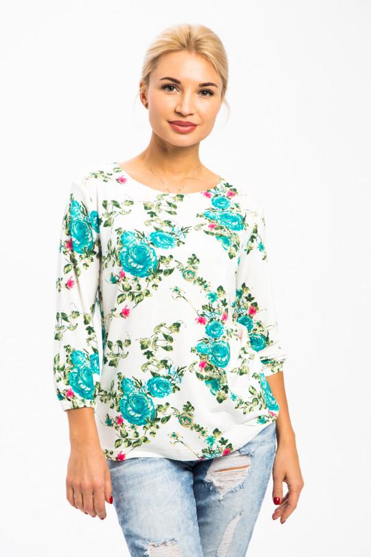 1772-1 - Чудесная блузка на лето из вискозного полотна