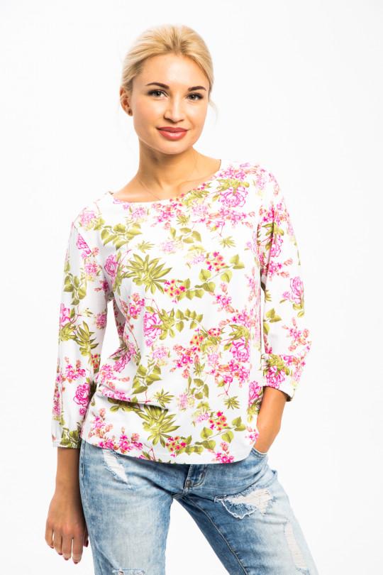 1772-3 - Чудесная блузка на лето из вискозного полотна