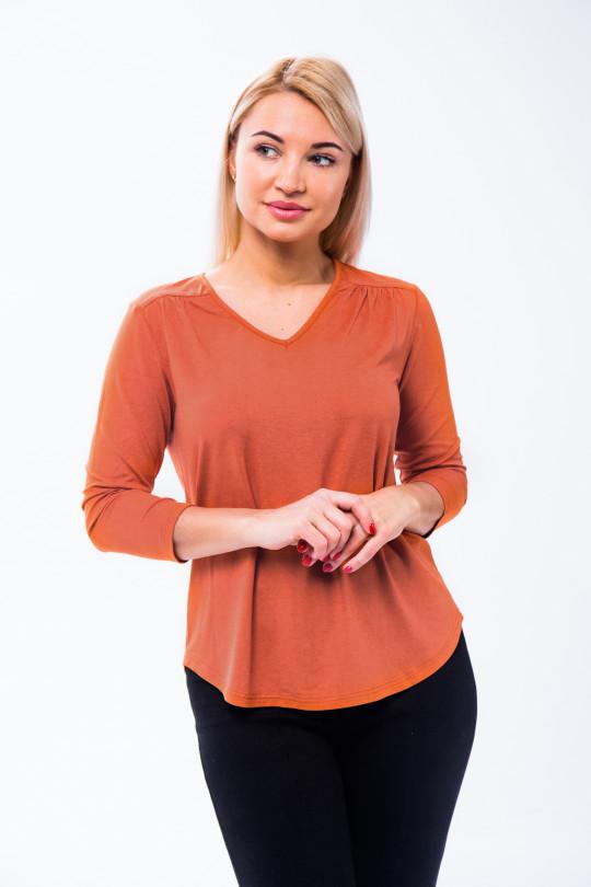 1831-2 - Замечательная блузка из  вискозной ткани. Выр