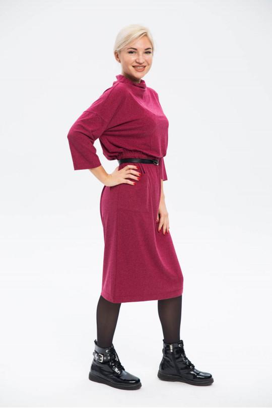 28101-1 - Отличное платье из  трикотажного полотна  дл