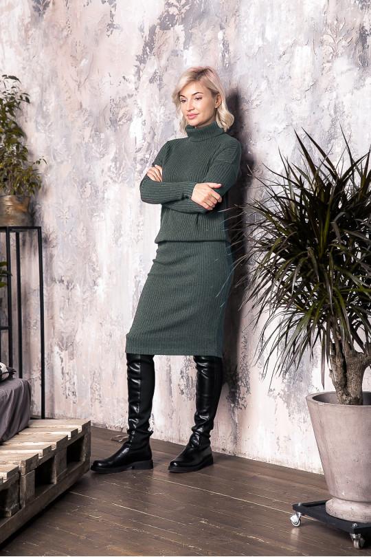 """29101-1 - Это платье из полотна типа """"резинка"""" средней плотности подойдет женщине или девушке с любой фигурой"""